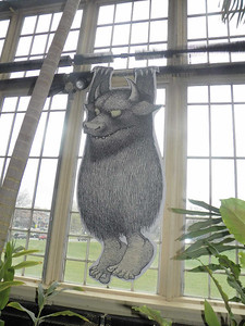 """a wild thing, from """"Where the Wild Things Grow: A Horticultural Tribute to Maurice Sendak"""""""