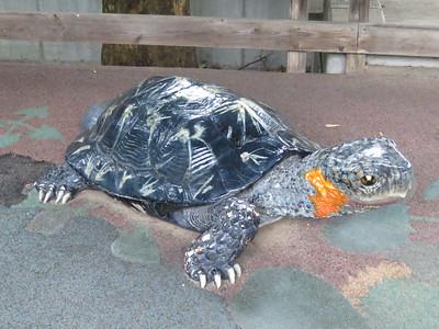 Bog Turtle statue