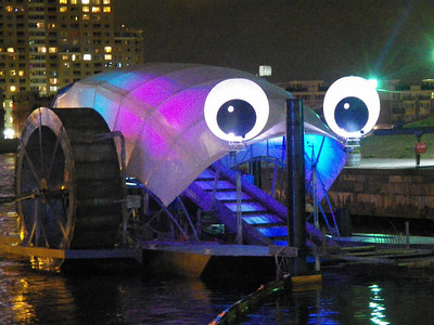 Trash Wheel presented by Constellation, Key Tech & Waterfront Partnership - the world's first floating trash collector