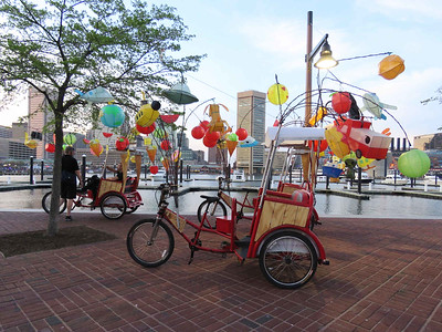 """Firefly"" pedicabs"