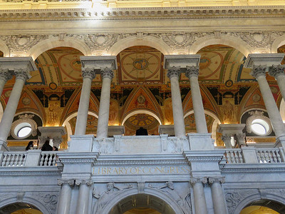 the Great Hall, Thomas Jefferson Building, January 28, 2017