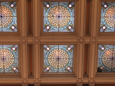 ceiling of the Great Hall, Thomas Jefferson Building, January 28, 2017