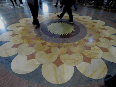 the floor of the Great Hall, Thomas Jefferson Building, January 28, 2017
