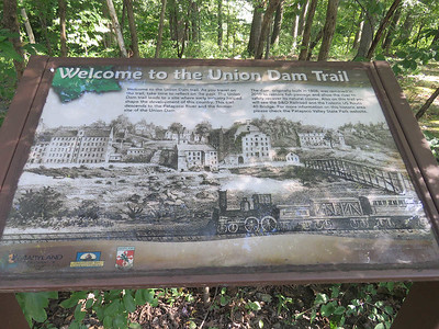 sign for the Union Dam Trail