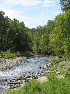 the Patapsco River, below the site of the Union Dam