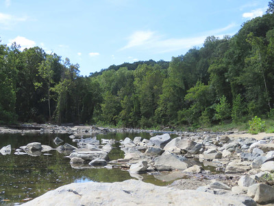 the Patapsco River, at the site of the Union Dam
