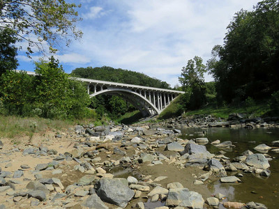 """historic"" bridge carrying Rte 40 over the Patapsco River"