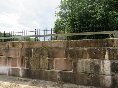 Monocacy Aquaduct stonework, June 17, 2017