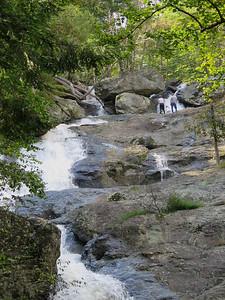 upper portion of Cunningham Falls, Cunningham Falls State Park, September 29, 2018