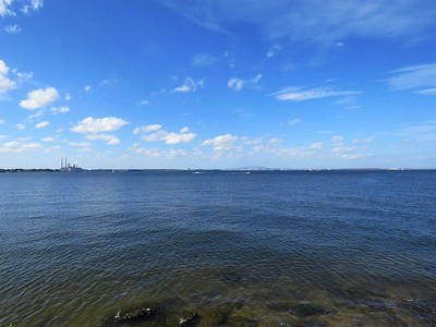 view of the Chesapeake Bay, October 7, 2017