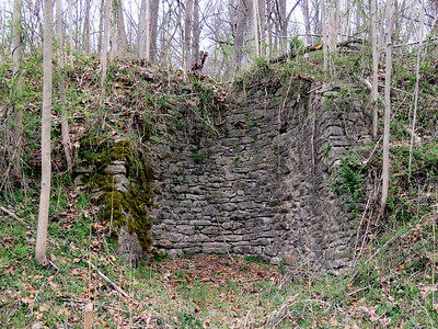 old lime kiln, Torrey C. Brown Rail Trail, April 15, 2018