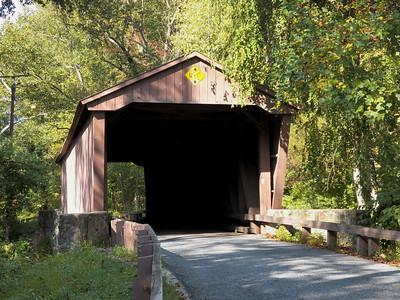 Jericho Covered Bridge, October 2012
