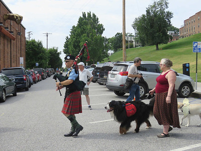 every parade needs a bagpiper, right?