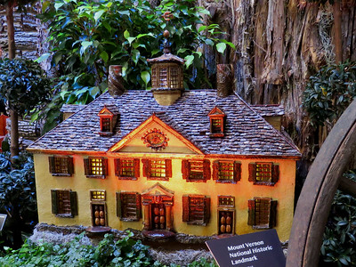 Mt Vernon model, 2016 Christmas train display