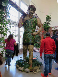 model of  the Jolly Green Giant statue, Minnesota