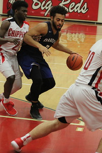Chippewa Vlalley defeated visiting Dakota 67-57 in a MAC Red Division boys basketball game on January 26, 2018. (Photo gallery by Kevin Lozon)