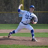 Senior Kyle Bischoff  dominated during Eisenhower's 9-0 MAC Red victory over visiting Dakota Monday afternoon. He struck out nine and allowed just three hits. (MIPrepZone photo gallery by Jim Evans)