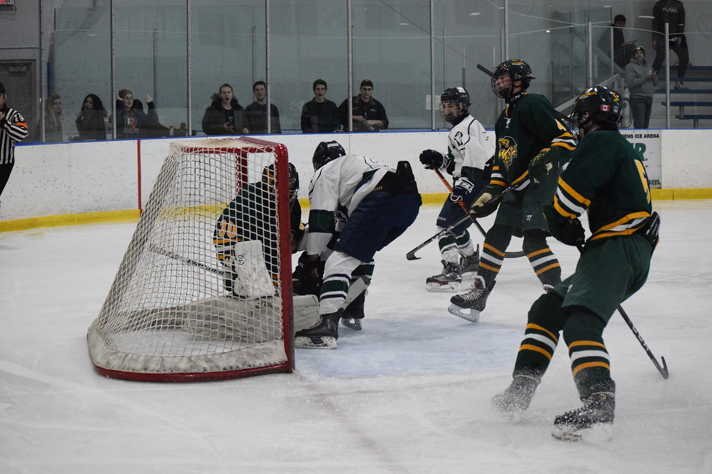 . Dakota beat Grosse Pointe North, 6-1, in a non-conference boys hockey game on December 6, 2017. THE MACOMB DAILY PHOTO GALLERY BY CHUCK PLEINESS