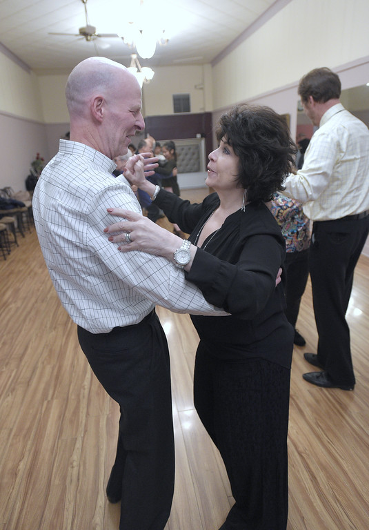 . Dancing at Argentine Tango Detroit in Utica. David Dalton for The Macomb Daily