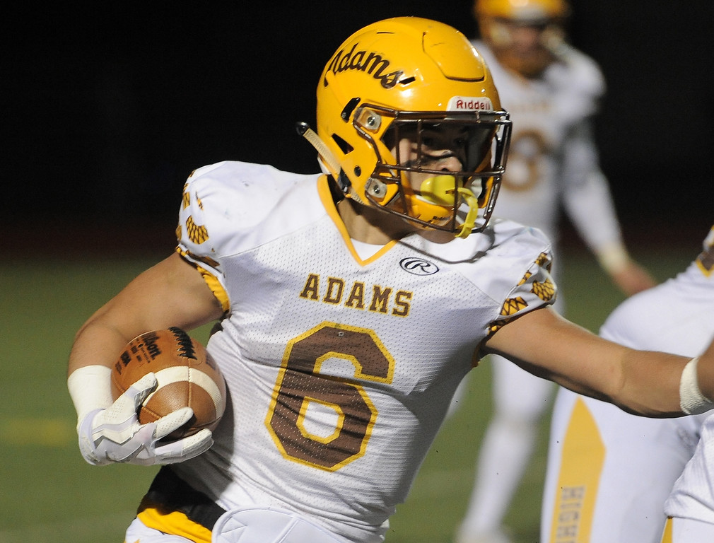 . Rochester Adams vs Eisenhower on November 3, 2017. THE MACOMB DAILY PHOTO GALLERY BY DAVID DALTON