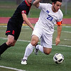Eisenhower and Romeo matched up Wednesday night at L'Anse Creuse North High School for their second round district playoff game. Ike won 4-0. (MIPrepZone photo gallery by Jon Kohlmann).
