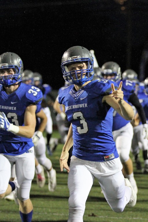. Eisenhower continues to roll with a 52-0 win over Utica on Friday, October 27, 2017. Macomb Daily photo gallery by George Spiteri.