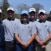 Ford was the champion, Dakota the runner-up and Romeo took third in the annual Evans-Gill Memorial Invitational golf tournament at Gowanie Golf Club in Harrison Township on April 24, 2017. (MIPrepZone photo gallery by George Pohly)