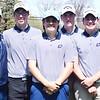 Dakota was the runner-up at the Evans-Gill tournament with 333 strokes. From left, coach Justin Taurence, Josh Tranzow, Mitchell Bazinski, Jakob Reichert, Matt Bayer and Adam Schornak.