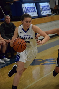 Lakeview beat Fraser, 34-33, in a MAC Blue Division girls basketball game on January 11, 2019. THE MACOMB DAILY PHOTO GALLERY BY CHUCK PLEINESS