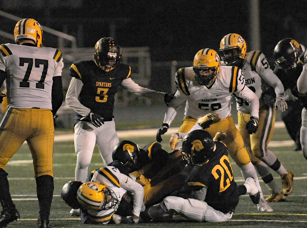 . Harrison vs Fitzgerald on October 27, 2017. THE MACOMB DAILY PHOTO GALLERY BY DAVID DALTON