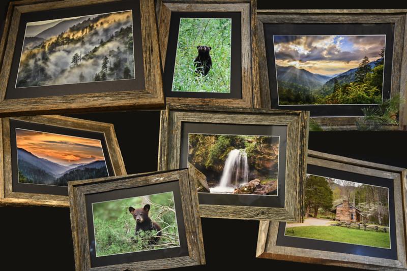 A Collage of Framed Images