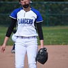 L'Anse Creuse beat L'Anse Creuse North, 9-7, in a MAC crossover softball game. (MIPrepZone photo gallery by Chuck Pleiness)