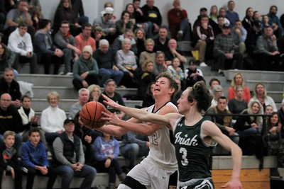 Lutheran North hosted Gabriel Richard gor a league contest on January 4th, 2019. Digital First Media photo gallery by George Spiteri.