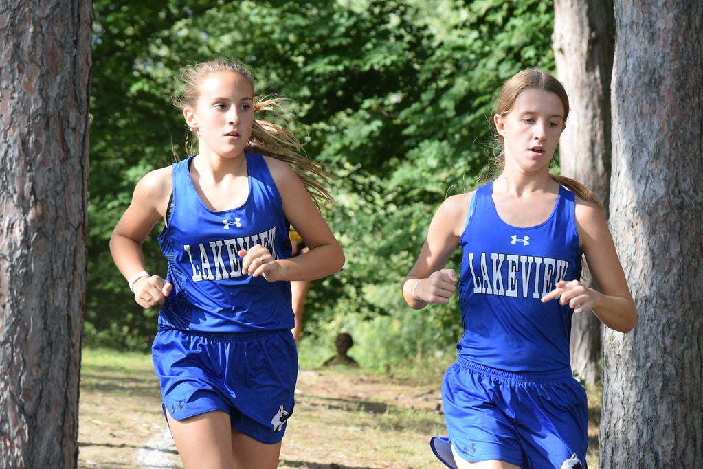 . MAC Blue Division cross country teams ran their first jamboree of the season at Marysville Park on Sept. 12, 2017. THE MACOMB DAILY PHOTO GALLERY BY GEORGE POHLY