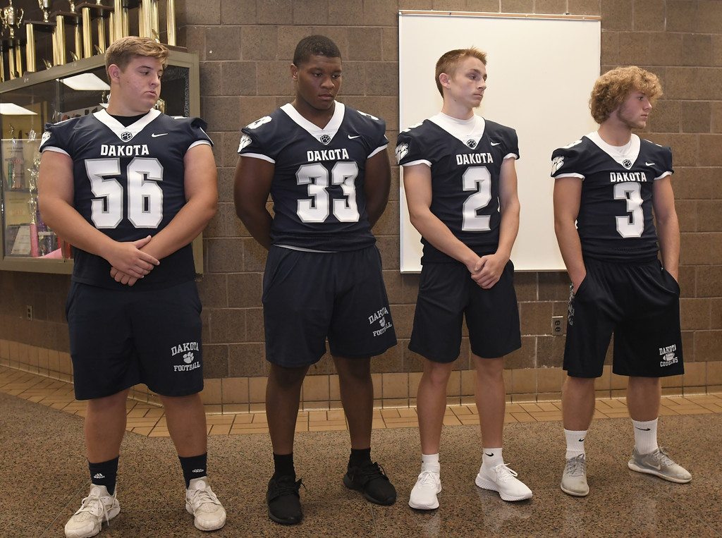 . MAC Football Media Day at Chippewa Valley High School on July 24, 2018. MACOMB DAILY PHOTO GALLERY BY DAVID DALTON
