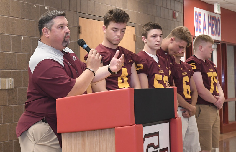 MAC Football Media Day at Chippewa Valley High School on July 24, 2018. MACOMB DAILY PHOTO GALLERY BY DAVID DALTON