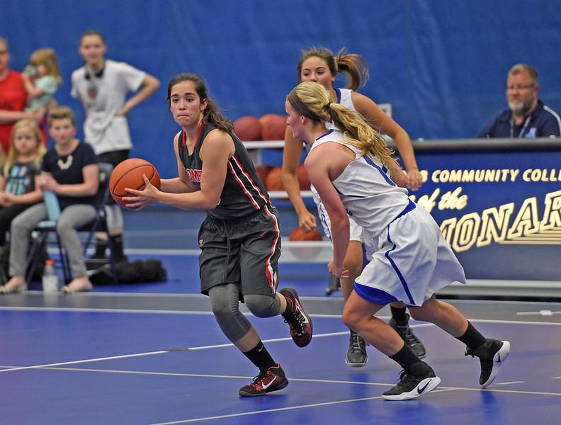 Macomb County girls all star basketball  at Macomb Community College. (MIPrepZone photo gallery by David Dalton)