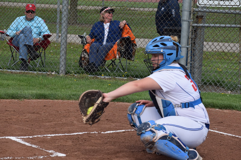 The visiting Marysville Vikings defeated Cousino 5-0 in MAC Gold softball action Tuesday afternoon. (Macomb Daily photo gallery by Jim Evans)