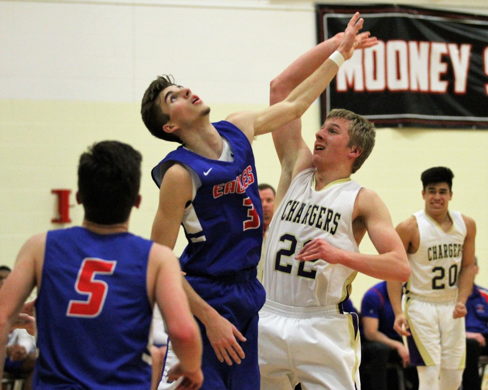 . Parkway Christian defeats Inter-City Baptist 61-45 in regional basketball semifinal on March 12, 2018 at Cardinal Mooney. THE MACOMB DAILY PHOTO GALLERY BY GEORGE SPITERI