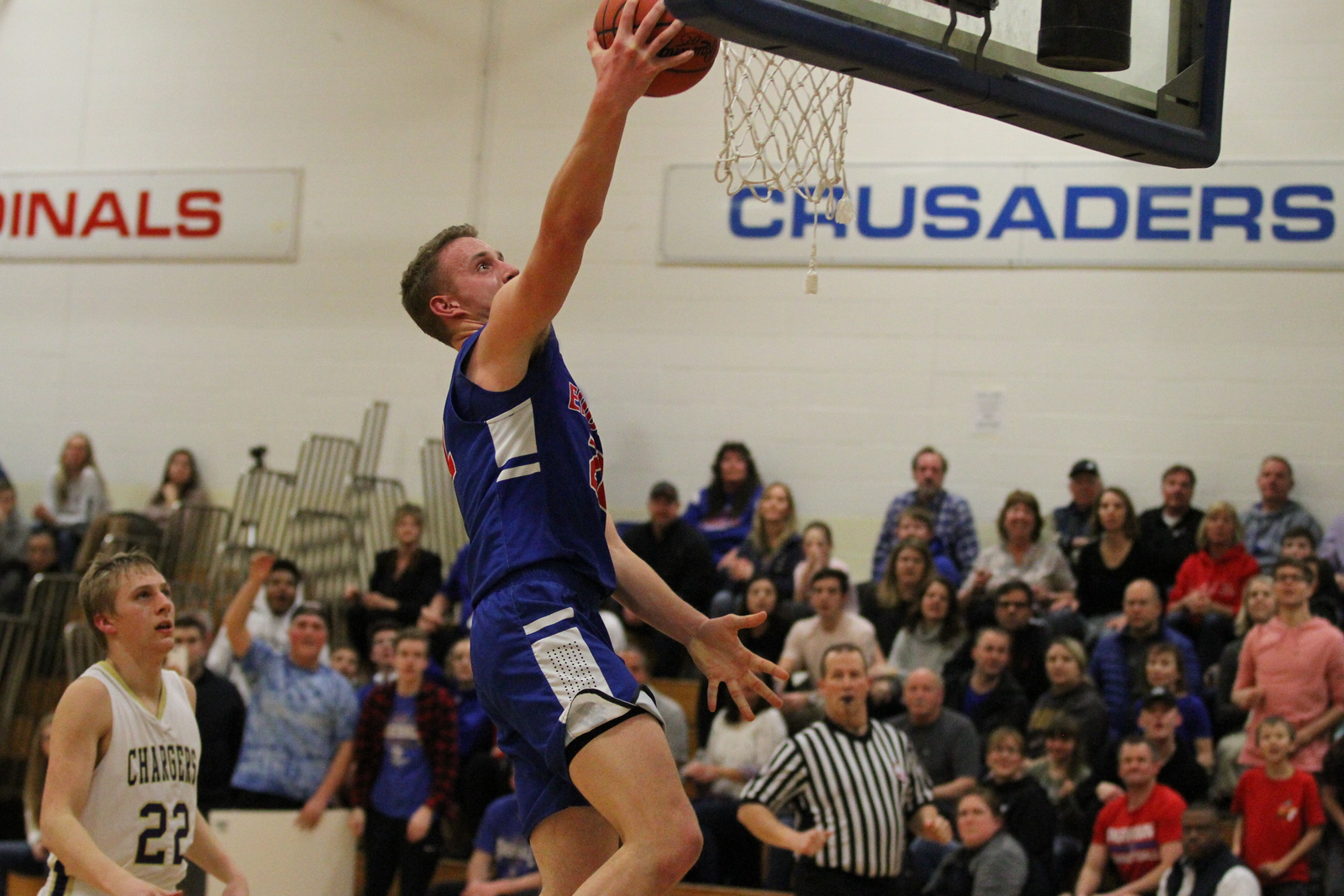Parkway Christian defeats Inter-City Baptist 61-45 in regional basketball semifinal on March 12, 2018 at Cardinal Mooney. THE MACOMB DAILY PHOTO GALLERY BY GEORGE SPITERI