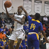 Eric Williams Jr. (2) of New Haven puts up a shot during the match between New Haven and South Lake on December 28, 2016.  (MIPrepZone photo gallery by David Dalton)