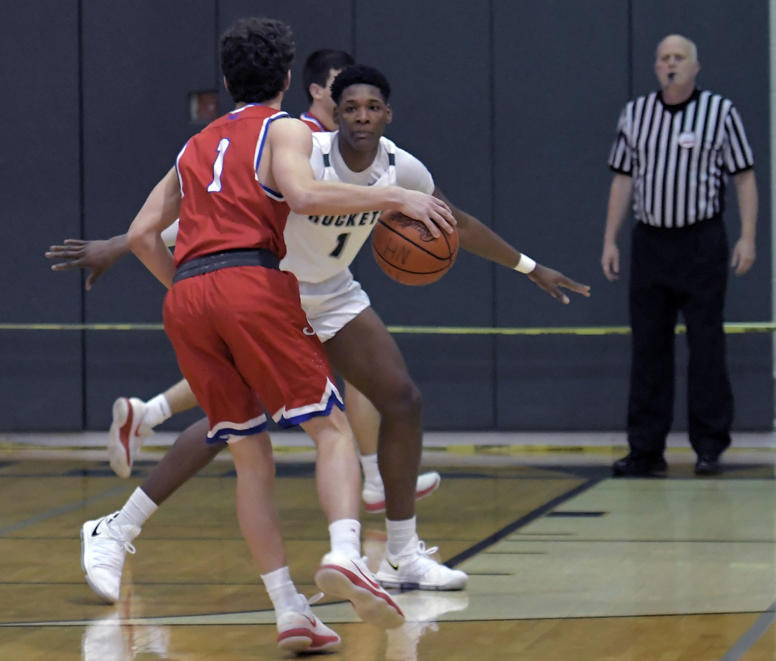 New Haven vs St. Clair on March 12, 2018.  MACOMB DAILY PHOTO GALLERY BY DAVID DALTON