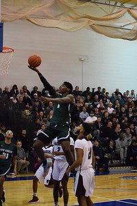 Rome Weems (1) scored 36 points to go with 12 boards, five assists, six steals and two blocks to lead New Haven over Warren-Mott, 84-50, in a boys MAC White Division basketball game January 8, 2019. THE MACOMB DAILY PHOTO GALLERY BY CHUCK PLEINESS