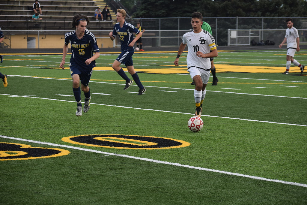 . Sterling Heights defeated visiting Port Huron Northern 2-1 in a MAC Blue Division soccer match Friday. (The Macomb Daily photo gallery by Jim Evans)