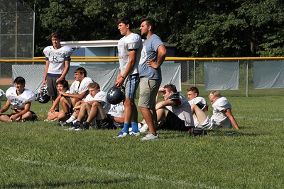 Richmond football practice on Thursday August 10, 2017. (MIPrepZone photo gallery by George Spiteri)