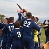 Richmond defeated Lutheran North 2-1 in a Division 3 district soccer championship game played Oct. 21, 2016, at Imlay City.  (MIPrepZone photo gallery by George Pohly)