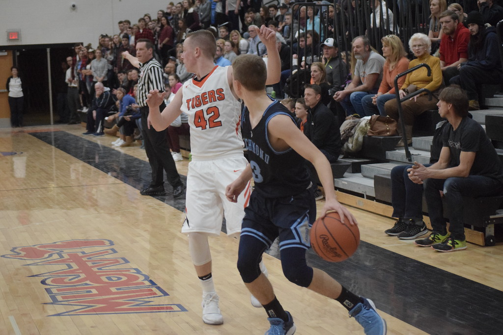 . Armada defeated Richmond 55-44 in a key Blue Water Area Conference basketball game played on the Tigers\' floor Tuesday, Feb. 13.  THE MACOMB DAILY PHOTO GALLERY BY GEORGE POHLY