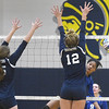North Branch won over South Lake 25-4, 25-11, 25-10 at Clawson High School on November 15, 2016. (MIPrepZone photo gallery by David Dalton)