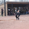 Marissa Tatti of L'Anse Creuse North scores a run that gave the Crusaders a 9-3 lead over Sterling Heights in the bottom of the second inning.