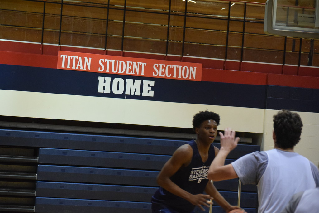 . Coach Mark Lacombe and his Stevenson Titans are getting ready for the upcoming season. (The Macomb Daily photo gallery by Jim Evans)
